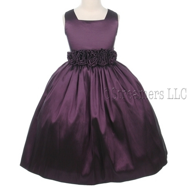 Plum Toddler Dress Shoes