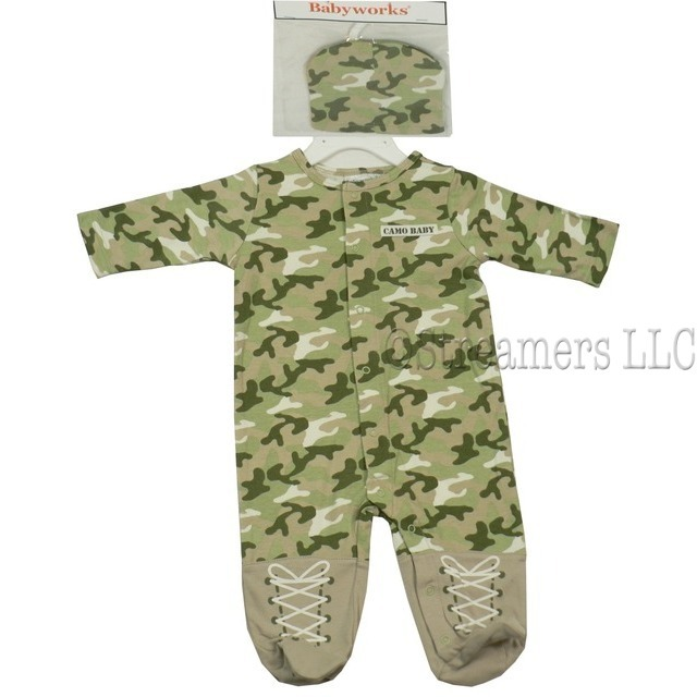 Baby Camo Baby Costumes Baby Coveralls