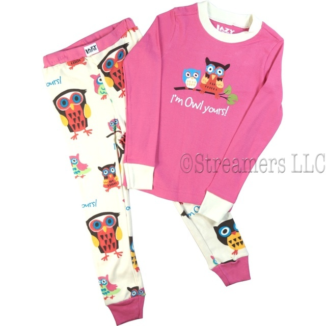 Girls Pajamas| Owl Pajamas| Girls Sleepwear