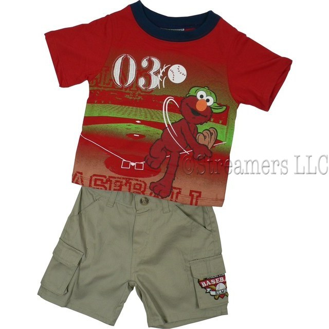 Clearance Kids Clothes Elmo Shorts Shorts Sets