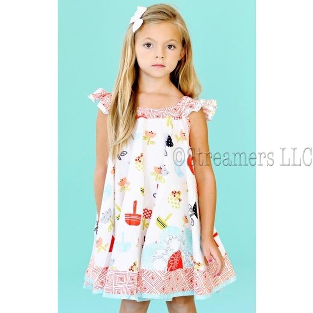 Wholesale Tween Girl Dresses Jelly the Pug