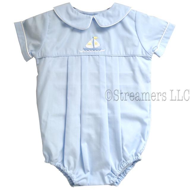 Preemie Boy Clothes| Bubbles| Sunsuits| Petit Ami