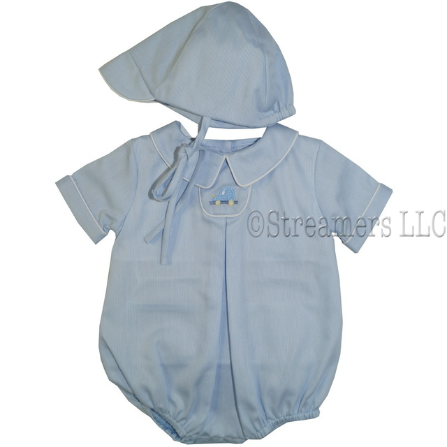 Preemie Boy Clothes Dressy Rompers Petit Ami