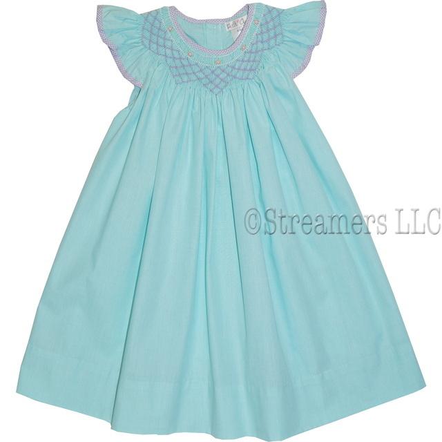 Wholesale baby dresses smocked dresses