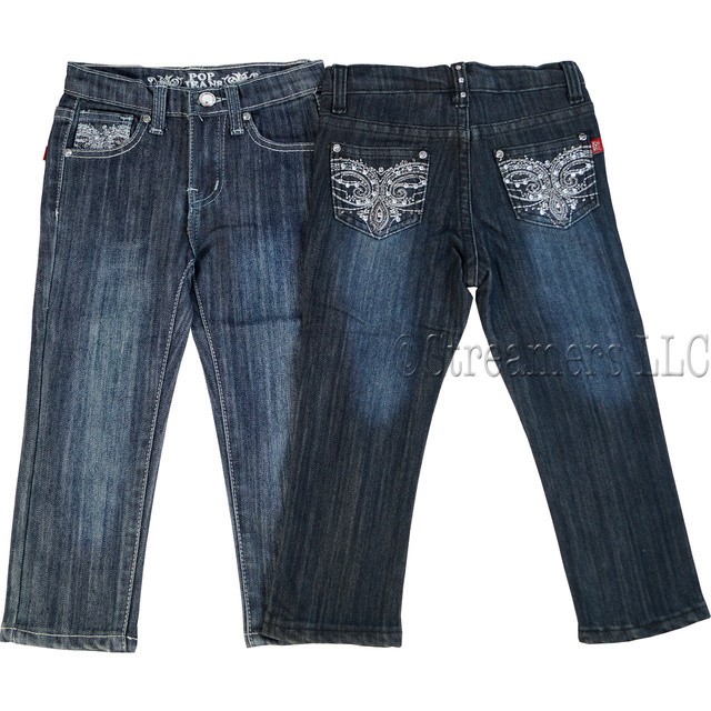 Cute Jeans With Rhinestones Toddler Rhinestone Jeans