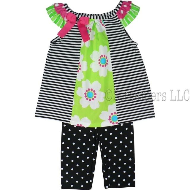 Rare Editions Baby Girl Sets| Infant Girls Legging set ...