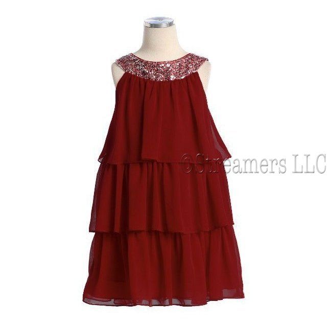 Wholesale Tween Girl Holiday Dress Closeout