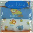 Four Pack of Adorable Newborn Boy Onesies in Fun Prints and Colors with Lap Shoulders and Snap Bottoms. These would Make a Great Gift for a Baby Shower! Available in Sports and Animal Patterns in Sizes 0/3 and 3/6 Months...