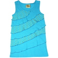 detail photo for Girls Asymmetric Waves Tank