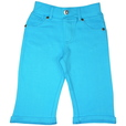 detail photo for Girls Capris with Faux Pockets
