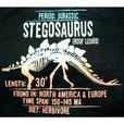 detail photo for Boys Denim Short Set with Stegosaurus Tee by Nannette