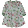 Baby Bishop Smocked Holiday Dress by Petit Ami