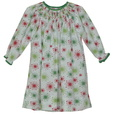 Great Toddler Girl Smocked Holiday Dress by Petit Ami