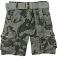 detail photo for Boys Cargo Shorts in Camouflage Pattern