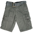 detail photo for Boys Cargo Shorts with Adjustable Waist