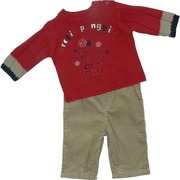 Adorable Baby Boy Sweater Set by Absorba with