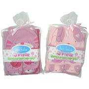 Newborn Baby Girl Gift Sets by Bon Bebe - Cute Newborn 3 pc