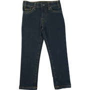 These are great 5 pocket denim jeans with adjustable waist, Hurley brand