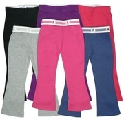 Girls Jog Pants - Cute Girls Jog Pants with Fold-Over Waist to Show Heart Pattern.  Soft and Comfy!  Available in Black, Fuchsia, Grey, Navy, Purple and Strawberry Red in Sizes 4, 5/6, 6X, 7/8, 10/12 and 14/16.  NOTE: Dream Star Items Tend to Run Small - May Wish to Order Next Size Up