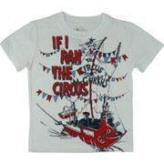 Boys T-Shirts Sizes 4-7 - Fun Dr. Seuss Tee with If I Ran The Circus Screen Print.  Available in Sizes 4, 5, 6 and 7.  See Matching Tee in Toddler Boy