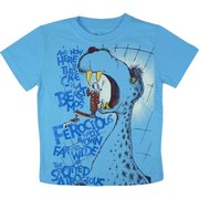 Boys Tees Sizes 4-7 - Fun Dr. Seuss Tee with And Now Here in This Cage is a Beast Screen Print.  Available in Sizes 4, 5, 6 and 7