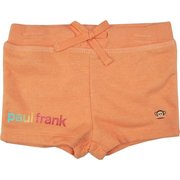 Cute Paul Frank Luxe Shorts made of Soft Cotton Outside and Terry Cloth Inside, Elastic Waist with Drawstring to Cinch Them for a Great Fit!  Paul Frank Glitter Screen and Julius.  Available in Sizes 12, 18 and 24 Months (See more sizes and colors in Toddler Girl)