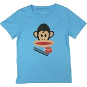 Paul Frank Boys Tees in Light Blue. Love, Peace and Hair Grease. Available in sizes 4, 5/6, 7 and 7X (8)