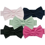 Girls Satin Sashes by Sweet Kids - Beautiful Satin Sashes with Adjustable (Velcro) Preformed Bow for Girls Special Occasion Dresses.  by Sweet Kids. Available in Size Medium to fit Girls Dresses in Sizes 2, 3, 4, 5 and 6.  Available in Black, Fuchsia, Navy, Pink and Sage Green. (Example with Dress SKTG-2772 and SKYG-2772 as shown). Other Colors and Sizes (Sm and LG) Available Upon Request. *This price is for SASH only!