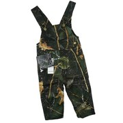 Infant Boy and Girl Clothes, Great Camouflage Bib Overalls in Forest  Pattern.  Two Side and One Back Pocket.  Adorable!  Available in Sizes 12, 18 and 24 Months.  by World Famous Sports.  Search Camo to see other items!